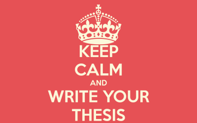 Tips to write a better thesis