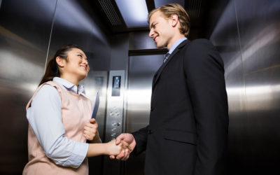 How to impress someone during an elevator pitch